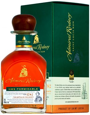 Admiral Rodney FORMIDABLE 40% 700ml box - SPIRITS OF FRANCE