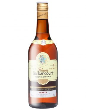 Barbancourt Extra Old Rum 8yrs, 5 stars 43% 750ml