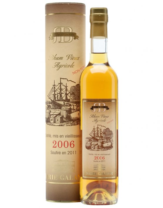 Bielle Rhum Agricole 2006 42% 500ml - SPIRITS OF FRANCE