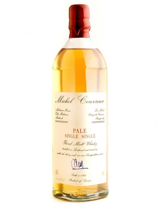 Michel Couvreur Whisky Pale Single Single 45% 700ml