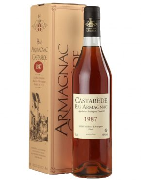 Castarede Bas-Armagnac1987 40% 700ml box - SPIRITS OF FRANCE
