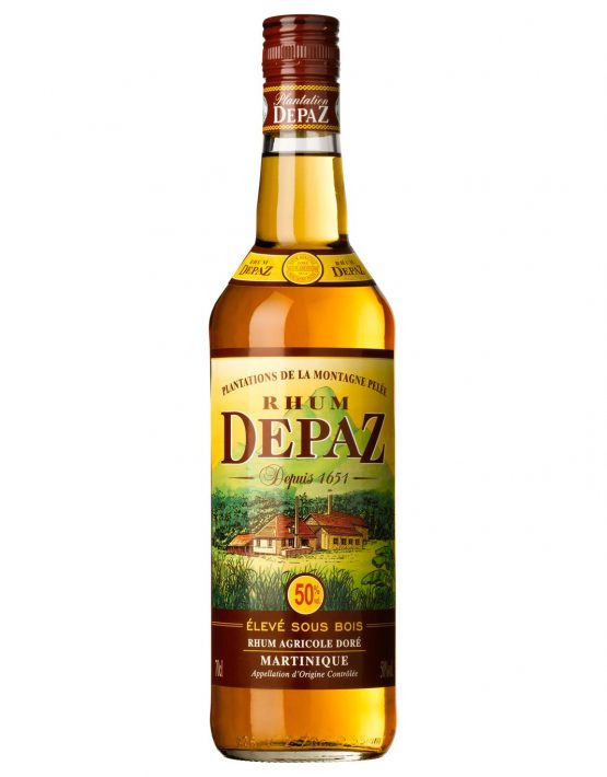 Depaz Rum Agricole Dore (Golden Amber) Martinique 1yr 50% 700ml