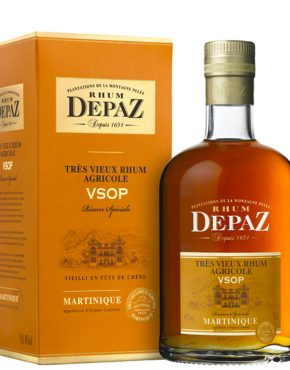 Depaz VSOP 45% 700ml box - SPIRITS OF FRANCE