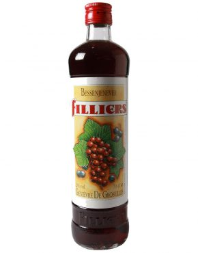Filliers Red Currant Liqueur (Dairy Cream Gin) 20% 700ml