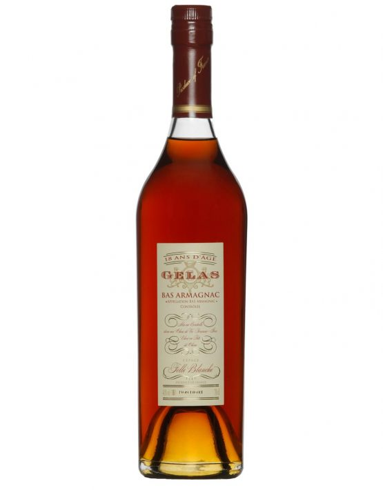Gelas Bas-Armagnac 18 years 100% Folle Blanche 700ml 44.7% Unfiltered