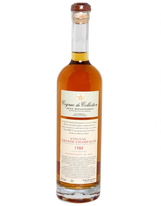 Grosperrin 'Cognac De Collection' 1980 aged 29yrs, Grande Champagne 50.2% 700ml