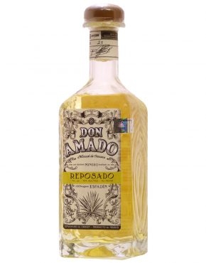 Don Amado Mezcal Reposado Oaxaca 100% Agave (Clay pot distillation, American oak) 40% 750ml