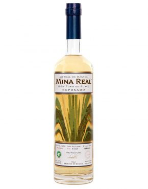 Mina Real Mezcal Reposado Oaxaca 100% Agave (Steam cooked, Clay pot distillation) 42% 750ml