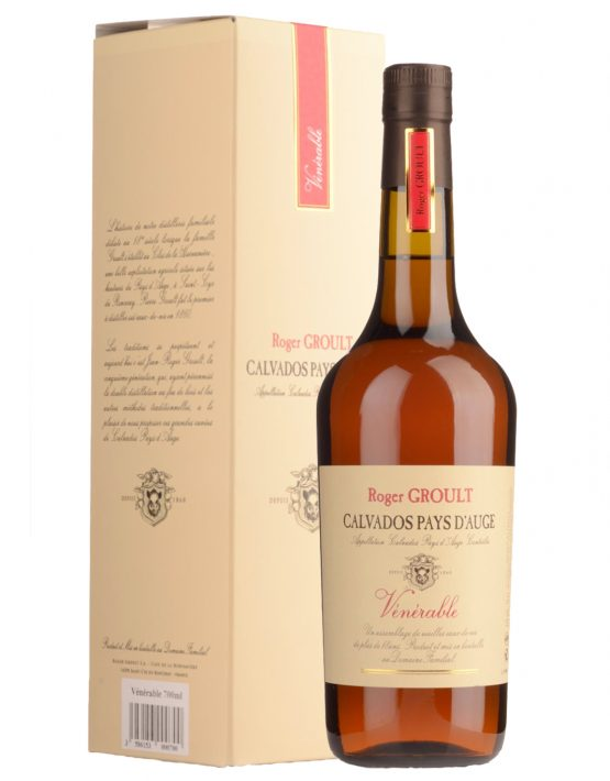 Roger Groult Calvados Pays D'Auge Venerable 25 years 41% 700ml box - SPIRITS OF FRANCE