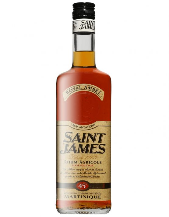 St James Rum Agricole 'Royal Ambre' (Amber) 45% 700ml
