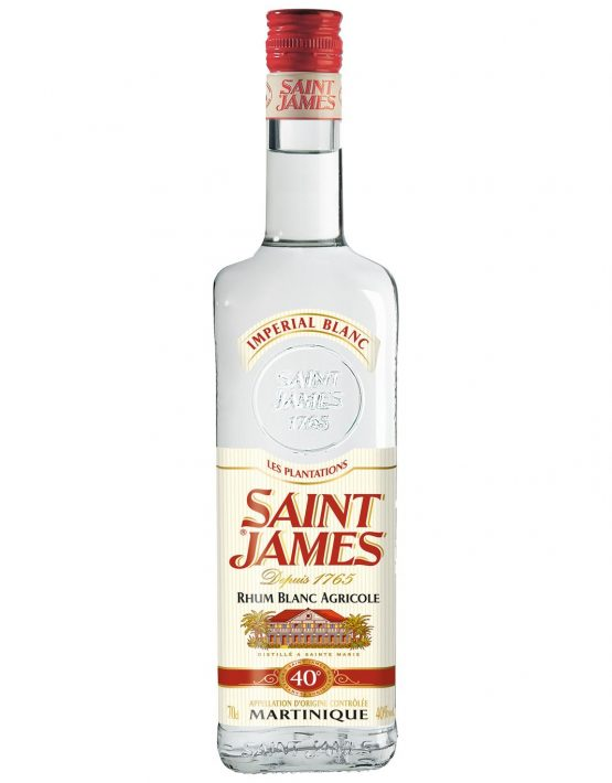 St James Rum Agricole Blanc (White) 40% 700ml