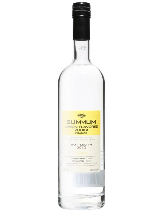 Summum Vodka Citron (Lemon) (distilled from wheat) 40% 750ml
