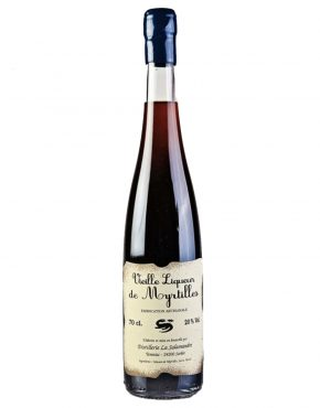 Salamandre Vieille Liqueur Myrtille (Blueberry) 20% 700ml - SPIRITS OF FRANCE