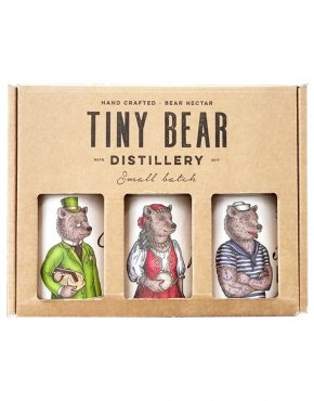 Tiny Bear Trio (Gift Box) - SPIRITS OF FRANCE